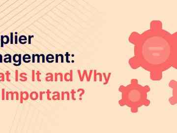 What is Supplier Management?