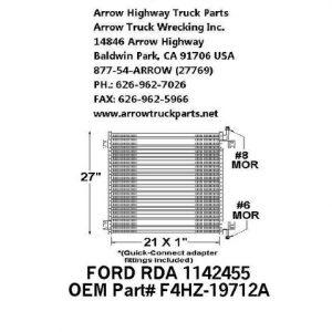 Ford L8000 / L9000 Hood