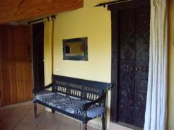Salon del apartamento rural2