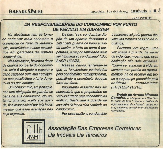 1997-04-08_DaResponsabilidadedoCondomínioporFurtodeVeículoemGaragem_EDITADO