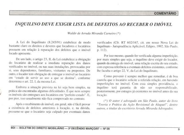 (1997-03-21)_InquilinoDeveExigirListadeDefeitosaoReceber_(BDI)