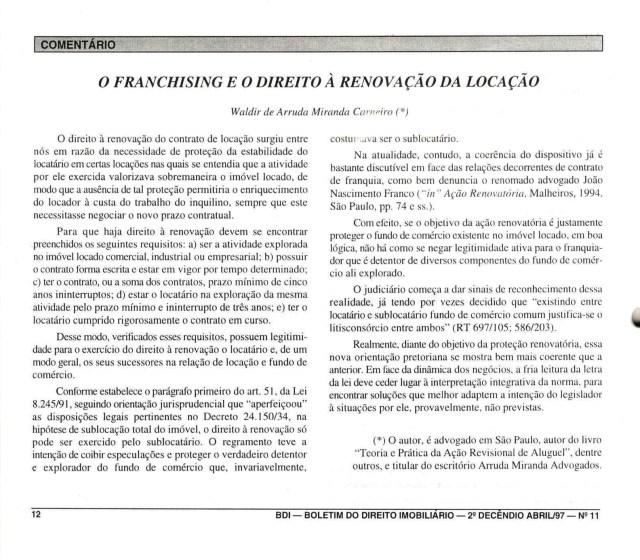 (1997-04-11)_OFranchisingeoDireitoRenovacao_(BDI)
