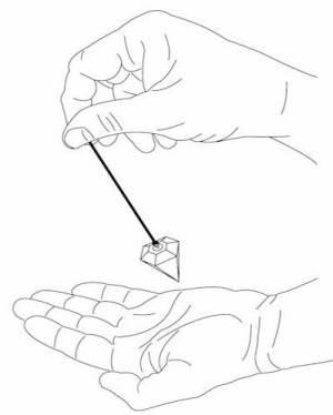 pendulum hand dowsing