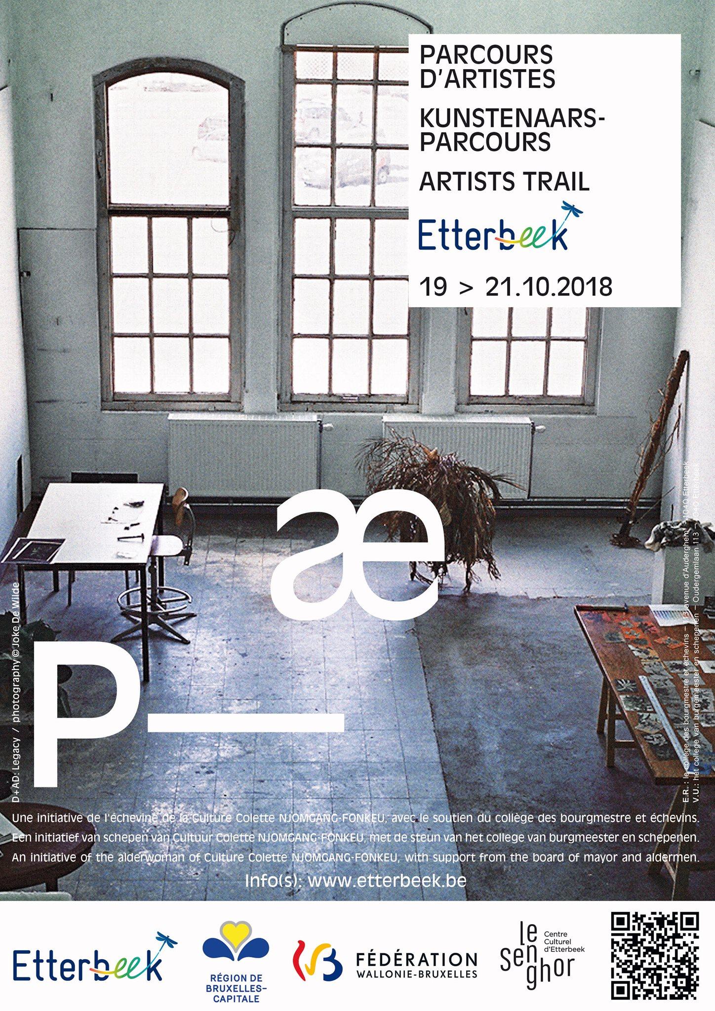 Parcours Artistes Etterbeek 2018