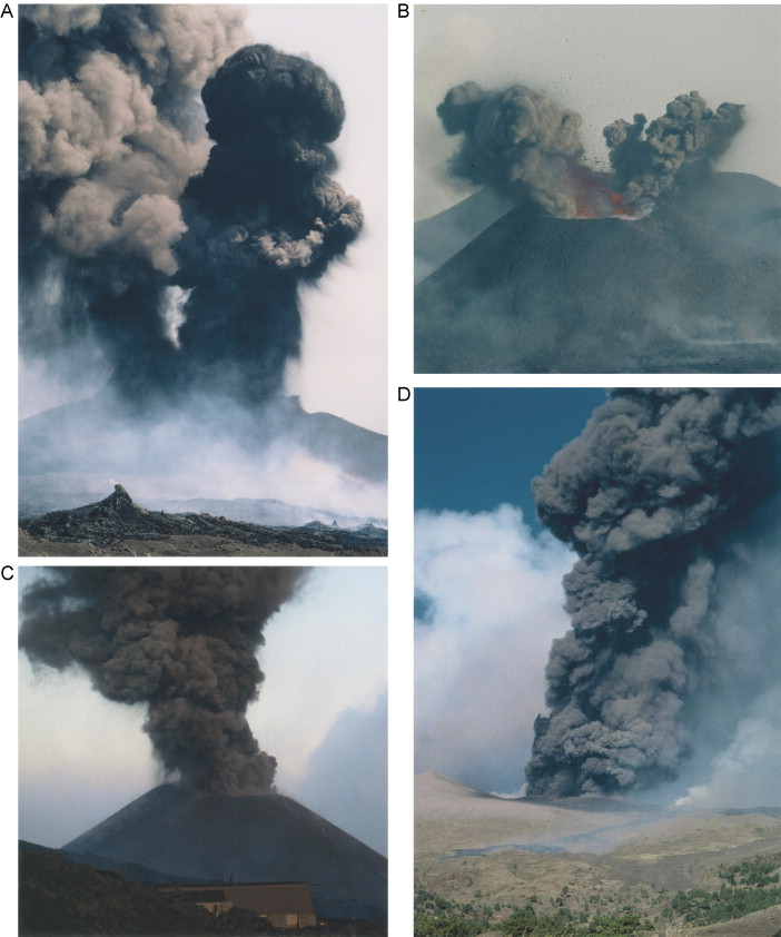 magma changes at mount etna the 2001