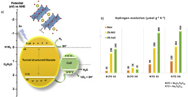 photocatalytic hydrogen evolution over
