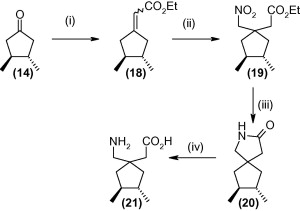 Reagents and conditions: (i) triethylphosphonoacetate, NaH, THF, 0°C to rt ...