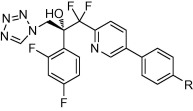 Antifungal activity of difluoromethyl-pyridyl-benzenes