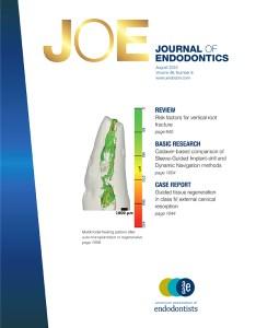 Cover image journal of endodontics also sciencedirect rh