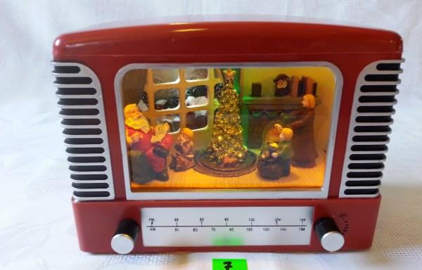 Scenka Świąteczna w Telewizorze