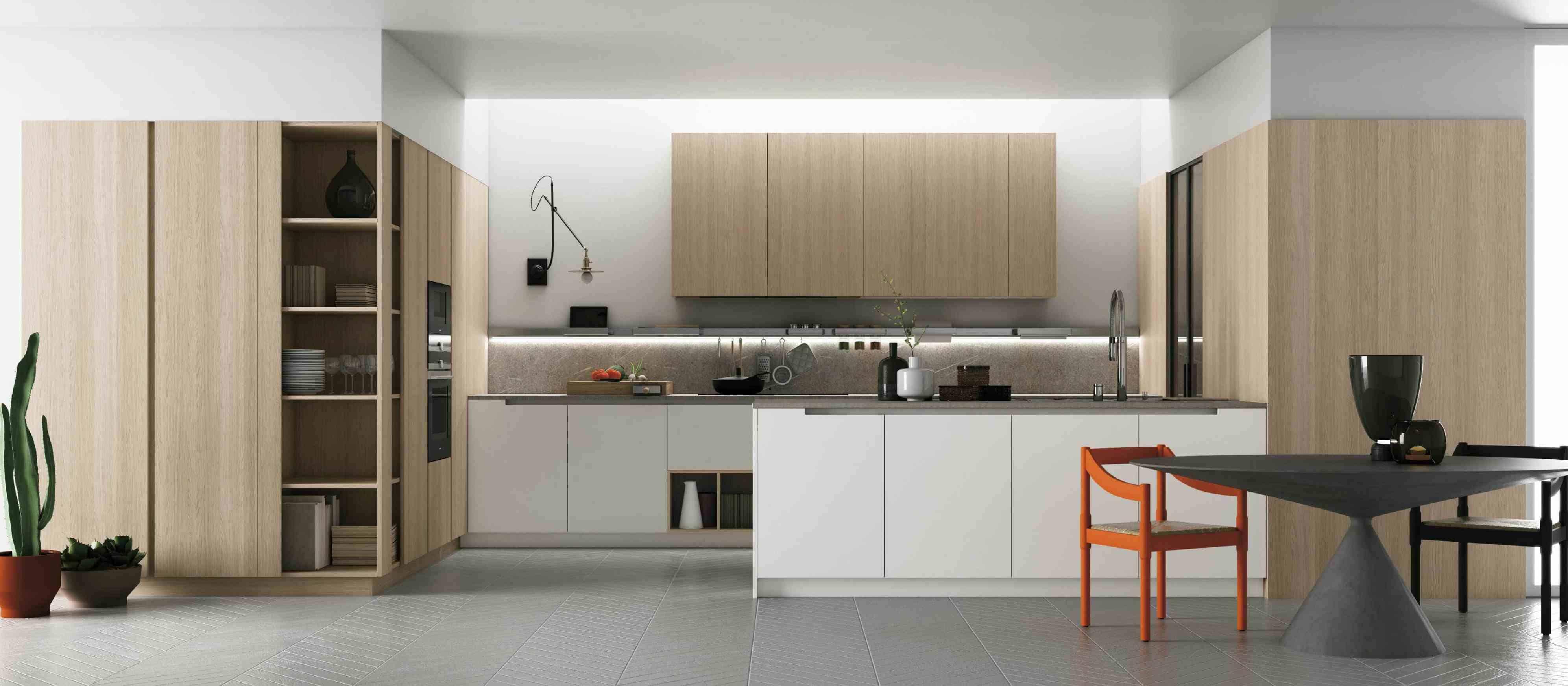 Cucina limportanza della parete attrezzata  ArsCity