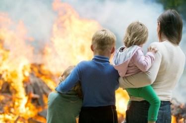 ARS Cleanup Children Fire