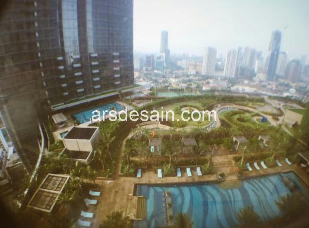 The luxurious Raffles Hotel, Jakarta – Indonesia