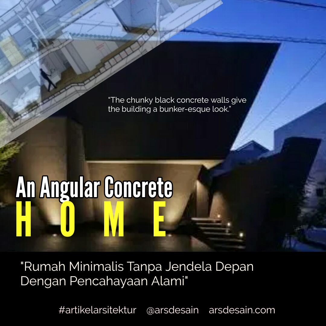 Rumah Minimalis Tanpa Jendela Depan Dengan Pencahayaan Alami