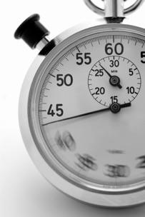 Stopwatch, close-up