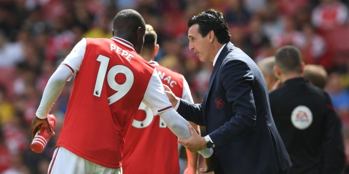 Emery confident on Pepe, price-tag not a consideration