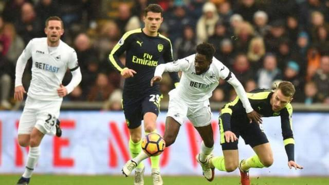Arsenal,Ramsey,Xhaka