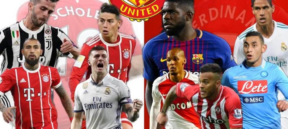 United, Arsedevils, Manchester United, Umtiti, Varane, Kroos, James, Vidal, Pjanic, Ghoulam, Bertrand, Fabinho