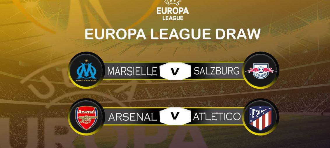 Arsenal Europa league draw, europa league draw, arsenal vs atletico, atletico europa draw, atletico draw vs arsenal,atletico madrid