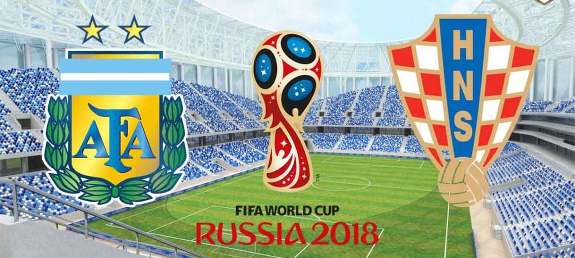 Argentina Vs Croatia, FIFA World Cup 2018, Russia, Argentina, Croatia