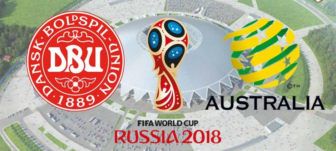 Denmark Vs Australia, FIFA World Cup 2018, Russia
