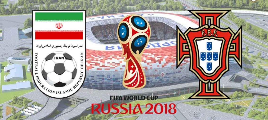 Iran Vs Portugal, FIFA World Cup 2018, Russia,Iran,Russia