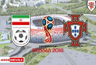 Iran Vs Portugal, FIFA World Cup 2018, Russia,Iran,Russia