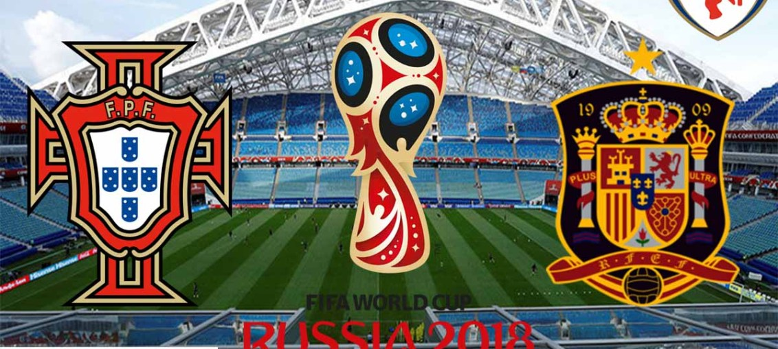 Portugal Vs Spain, FIFA World Cup 2018, Russia, Spain, Portugal