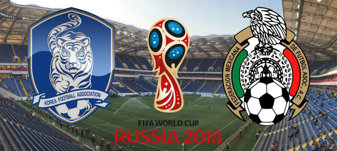 South Korea Vs Mexico, FIFA World Cup 2018, Russia