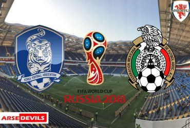 South Korea Vs Mexico, FIFA World Cup 2018, Russia