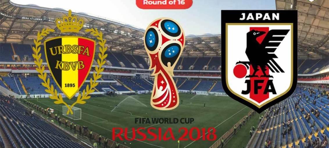 Belgium Vs Japan, FIFA World Cup 2018, Russia