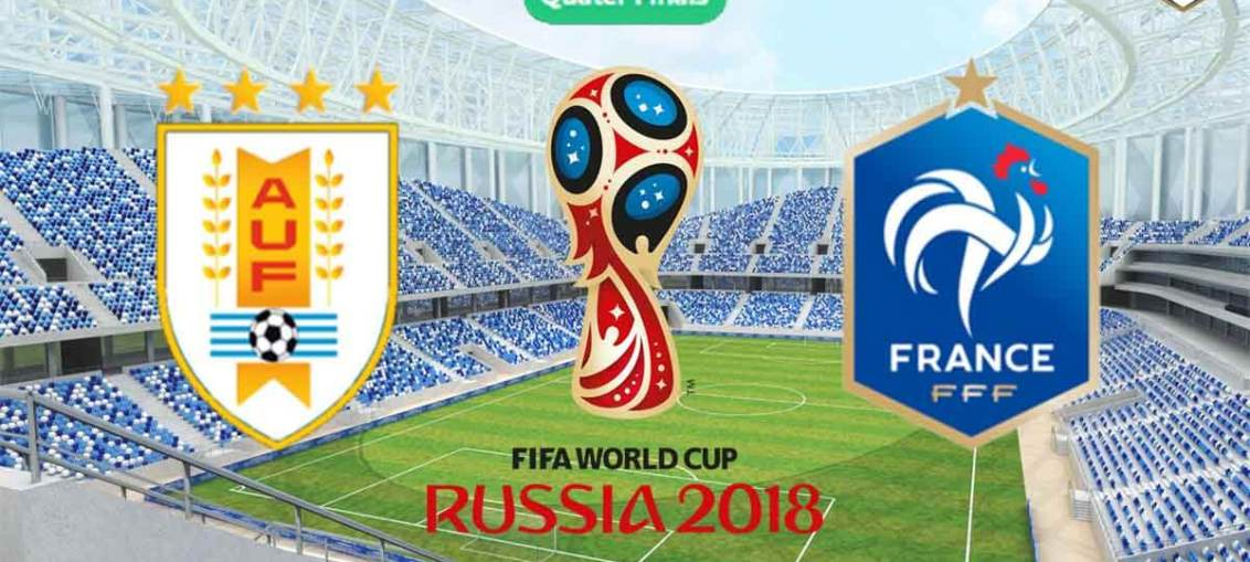 Uruguay Vs France, FIFA World Cup 2018, Russia