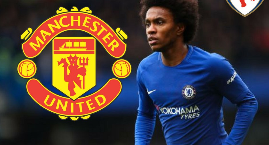 willian to United, Chelsea accept bif from United