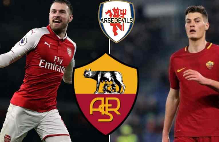AS Roma, Ramsey swap deal, Ramsey Schick swap deal,