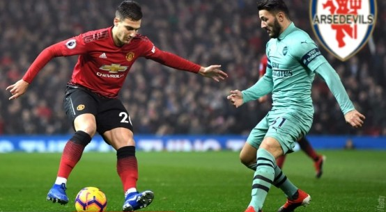 United vs Arsenal, Arsedevils