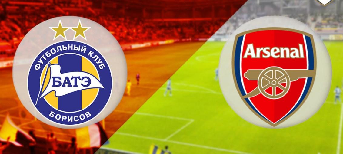 Bate Borisov, Bate Borisov Vs Arsenal