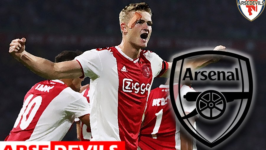 De Ligt, De Ligt linked to Arsenal