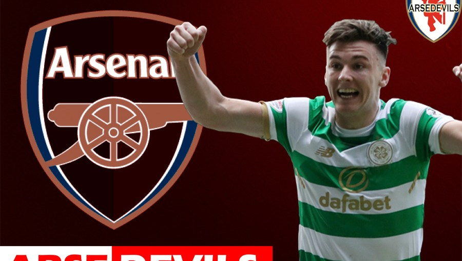 Kieran Tierney, Kieran Tierney linked to Arsenal