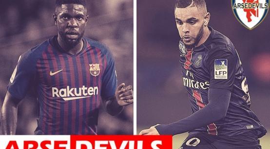 Samuel Umtiti, Umtiti linked to Arsenal and United