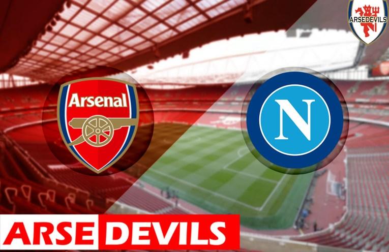 Arsenal Vs Napoli team news, Napoli