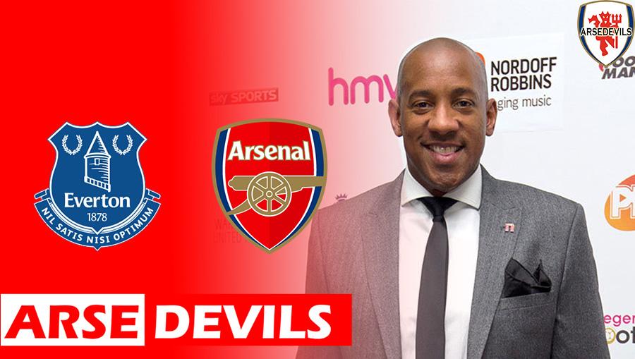 Dion Dublin, Everton Vs Arsenal