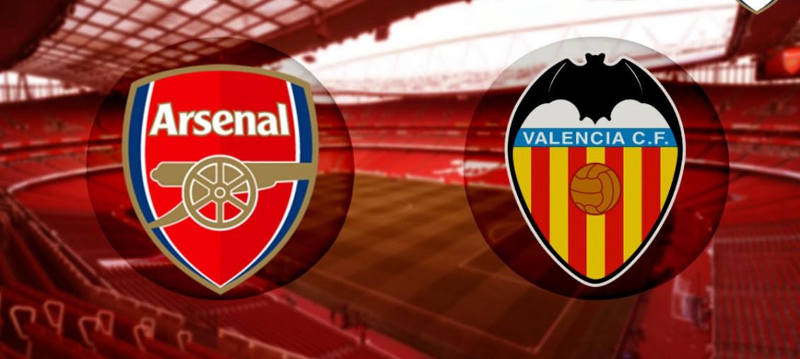 Arsenal Vs Valencia, Valencia, predicted lineup