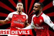 Aubameyang, Lacazette and Aubameyang