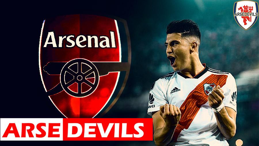 Ezequiel Palacios, Ezequiel Palacios linked to Arsenal