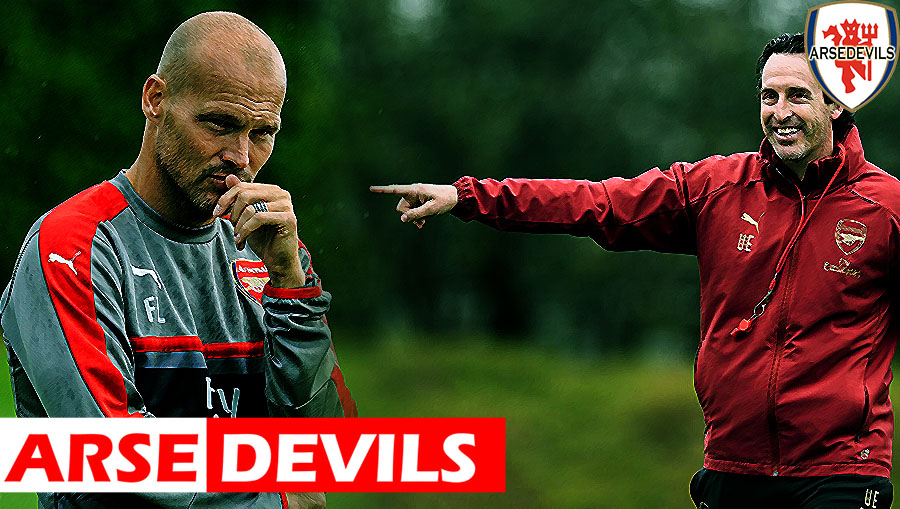 Ljungberg, Unai Emery, Arsenal manager