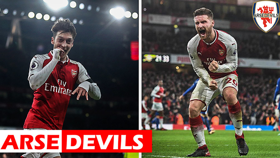 Mustafi, Ozil, German duo