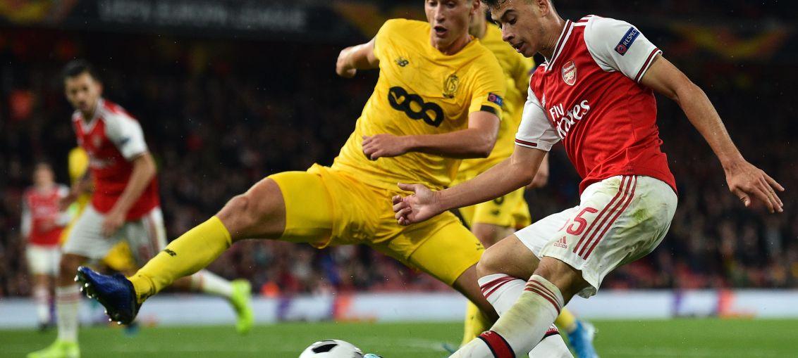 Gabriel Martinelli Arsenal Standard Leige