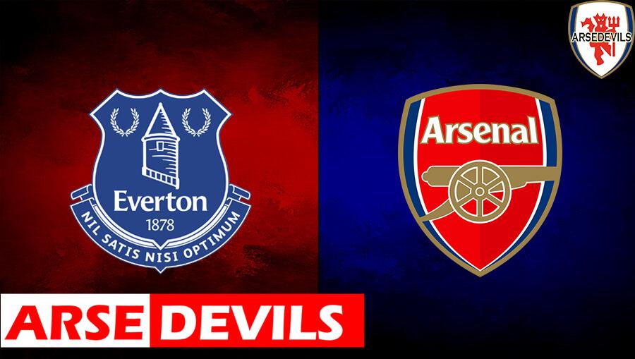 Everton Vs Arsenal, Everton