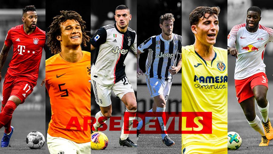 central defender, Arsenal targets