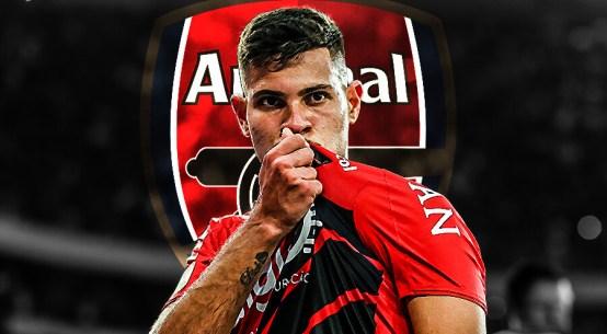 Bruno Guimaraes, Bruno Guimaraes to Arsenal, Guimaraes